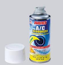 ABRO Lemon scent A/C AIR CON SANITISER DEODORISER AIR FRESHENER BOMB SPRAY 142g