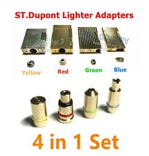 GAS Adapter für S.T. Dupont Feuerzeuge Briquets Lighters Linie 1, 2 & Gatsby