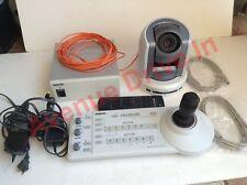 Sony BRC-300 MP PTZ  RM-BR300 Joystick BRU-300 BRBK-303 Conference Video Camera