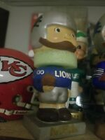 NFL Detroit Lions Lure Fuzz Hair Headband Knit Beanie Fan Game Day ... 9d255f3de