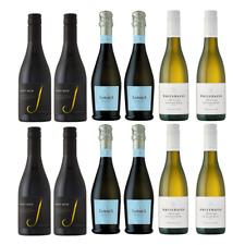 12 Small Bottles of Wine - J Vineyards, La Marca, Whitehaven - 375ml bottles