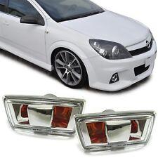 Seitenblinker chrom Paar für Opel Astra H Corsa D Zafira B Insignia
