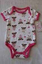 NEW Baby Girls 0 - 3 Months Bodysuit Creeper Outfit Infant 1 Piece Bears Dancing