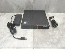 Lenovo ThinkCentre M900 Tiny Core PC Computer - i5-6500T 2.5GHz 8GB + Adapter