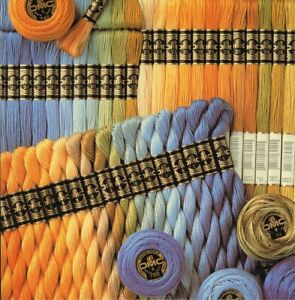 DMC Coton Perle Skeins of Thread thickness number 3