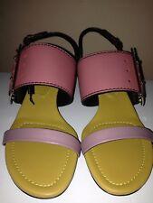 Burberry Ladies Leather Sandals RRP £425 BNIB Size UK 6/39
