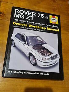 Rover 75 / MG ZT Petrol & Diesel (99 - 06) Haynes Repair Manual