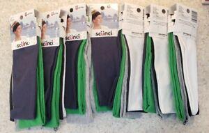 (7) Scunci Athletic Headbands Assorted Colors 35 Pieces Total
