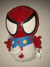 Spidermam Santa Plush Stuffed Animal New