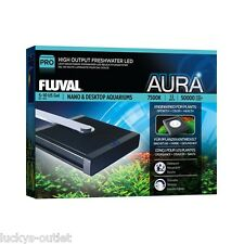 Fluval Pro Nano & Desktop Aquarium Aura High Performance LED Lamp 12w A3972