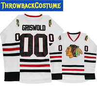 Clark Griswold #00 X-Mas Christmas Vacation Movie Hockey Jersey Stitched Men Ice