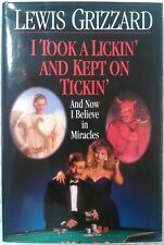 I Took a Lickin' and Kept on Tickin' Lewis Grizzard 1993 Hardcover Book Humor