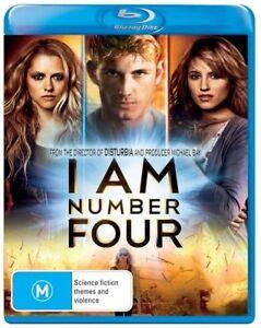 I Am Number Four (Blu-ray + DVD) BLU RAY - AUSTRALIAN REGION B - FREE POSTAGE