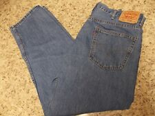 LEVI LEVIS 550 RELAXED FIT MEN'S JEANS SIZE 42 X 32 - Free Shipping