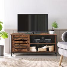 Fernsehtisch,TV Lowboard,TV-Tisch für Fernseher, 2 Fächer TV-Regal, mit Schrank