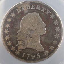 1795 Flowing Hair Silver Half Dollar Coin ANACS VG 8 O-128 Small Head