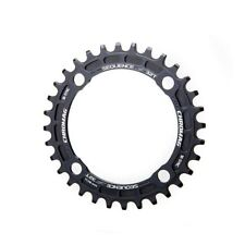 Chromag Sequence 28T 10/11sp BCD: 94 4 Chainring 7075-T6 Aluminum Black