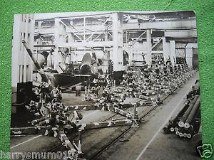 Photograph original 75 mm AA guns for Turkey 1931 Vickers Barrow in Furness LPA