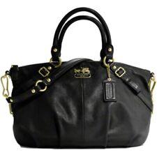 Coach Madison Leather Sophia Satchel Shoulder Purse 15960 Black