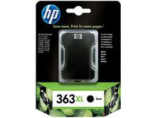 HP 363 XL ORIGINALE NERO Photosmart 3110 3210 3310 8250 c5180 --- OVP 08/2012