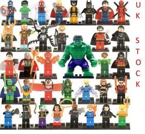 Super Heroes MARVEL Minifigures Avengers Mini Figures Venom Hulk Iron Man