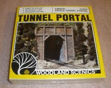 Tunnel Portal woodland scenics HO scale NOS factory sealed