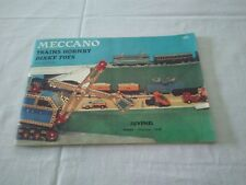 """Catalogue MECCANO trains Hornsby - Dinky toys - """" JUVENEL - Nîmes """""""