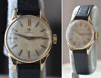 1958 OMEGA Swiss cal. 244 LADIES 23mm Gold Filled GF Vintage WRISTWATCH Serviced