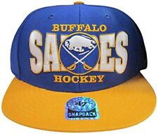 Buffalo Sabres Blue/Gold Tone Adjustable Snapback Hat/Cap