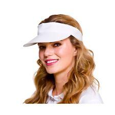 Visera Sol Deportes Verano Tenis Pub Golf & Sombrero de Disfraz Adulto Nuevo