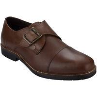 Mens Original Penguin Mens Marlow Monk Buckle Shoe in Tan From Get The Label