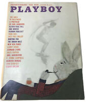 1960 Vintage Playboy Magazine October Playmate Centerfold VF Bunny