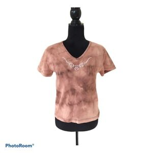 Harley-Davidson Motorcycle Woman Size Medium Cotton Short Sleeve T-shirt