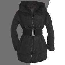 warm schwarz Gr.38/40 DAUNENJACKE Daunen Parka Steppjacke Jacke WINTERJACKE