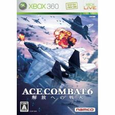 Used Xbox360 Ace Combat 6: Fires of Liberation Japan Import