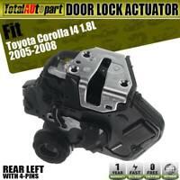 Door Lock Actuator Female Rear Left for Toyota Corolla Camry 2002-2008 Sedan