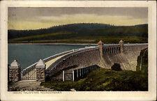 1928 Stempel Zschopau Neunzehnhain Lautenbachtal See Talsperre Stausee Bauwerk
