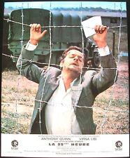 LA 25ÈME HEURE - Anthony Quinn / Serge Reggiani - SET 12 PHOTOS D'ÉPOQUE (1967)
