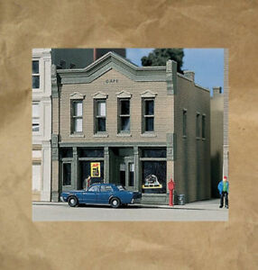 NEW ~ DOWNTOWN CAFE Building Kit by DPM ~ Mayhayred Trains N Scale Lot