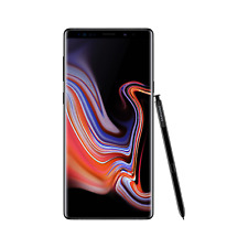 "Grade A2 Samsung Galaxy Note 9 Midnight Black 6.4"" 128GB 4G Un A2/SM-N960FZKABTU"