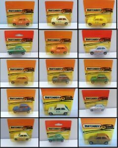 MATCHBOX SUPERFAST №21, RENAULT 5TL, BULGARIAN, 1978, Multiple Listing, Diecast
