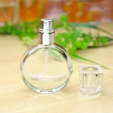 20ml Empty Glass Perfume Spray Bottle Round Atomizer Refillable Travel Tools