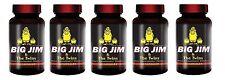 5X Big Jim & The Twins Male Enhancement All Natural Formula 60 Pills Per Bottle
