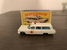 Matchbox LESNEY S & S Cadillac Ambulance #54