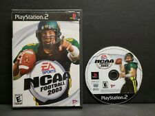 NCAA Football 2003 (Sony PlayStation 2, 2002) PS2 No Manual