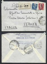 POSTA MILITARE 1943 Raccomandata da PM 99 a Verona (EB)