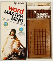 Vintage Word Master Mind Board Game by Invicta 1975 Vintage