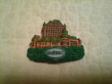 """Collectible Old Quebec Relief Resin Refrigerator Magnet 3"""" H X 2.5� W"""