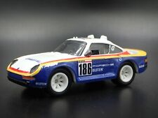 1986-1988 PORSCHE 959 RACING 1:64 SCALE COLLECTIBLE DIORAMA DIECAST MODEL CAR