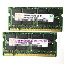 Hynix 4GB 2X2GB DDR2-667MHZ PC2-5300 Mid 2007 Apple Macbook Pro iMac Mac Mini